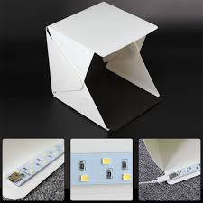 20cm folding portable light box photography lighting tent kit