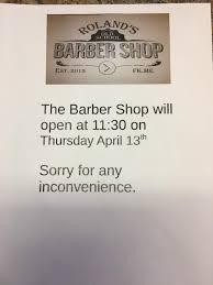 roland s school barber shop home