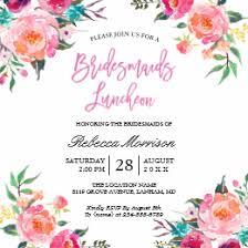 bridesmaids luncheon bridesmaids luncheon invitations announcements zazzle
