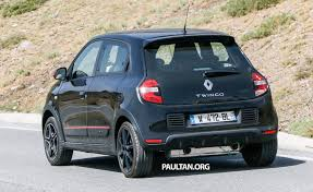 renault twingo 2014 spyshots new renault twingo rs on test u2013 to share an engine with