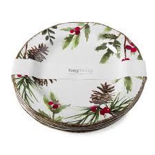 christmas plates christmas tag home decor