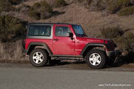 jeep wrangler 4 door top off review 2012 jeep wrangler rubicon the truth about cars
