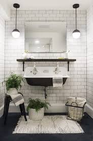 white tiled bathroom ideas black and white bathroom 30 black and white bathroom decor design