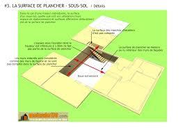 surface minimum d une chambre surface de plancher illustration sur un projet de maison