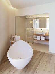 Laminate Flooring Walls Custom Standalone Bathtub Towelshelf Wooden Laminate Flooring