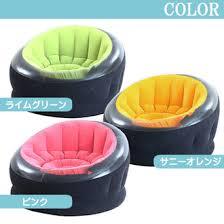 Noone Rakuten Global Market Air Sofa Round Round INTEX Empire - One person sofa