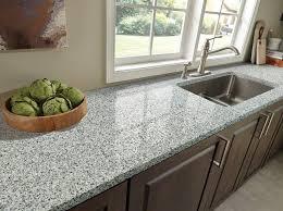 granite countertop corner booth table set glass flower vases