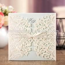 wedding invitation cards wishmade 2017 new design white ribbon wedding invitation