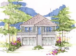 Stilt House Floor Plans Beach House Plans U0026 Coastal Home Plans The House Plan Shop