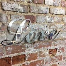 shabby chic letters metal decorative plaques u0026 signs ebay