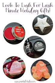 lush cosmetics holiday gift ideas