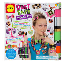 duct earrings alex toys diy wear duct jewelry toys