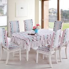 Fabric To Cover Dining Room Chairs Gorgeous Dining Table Cover On Cotton Fabric Dining Table Cloth