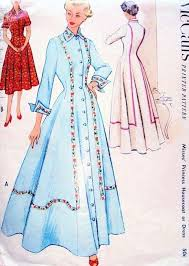 214 best vintage house coats sewing patterns images on pinterest