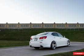 white lexus is300 vossen wheels lexus is vossen cv3r