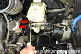 volkswagen golf gti mk iv brake master cylinder and reservoir