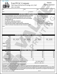 free design fast shipping on hvac forms hvac invoices u0026 work