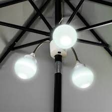 Solar Patio Umbrella Lights by Patio Umbrella Pole Lights Inspiration Pixelmari Com