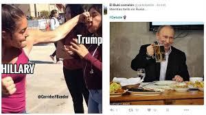 Memes Del Buki - hillary clinton vs donald trump estos son los memes del 禳ltimo