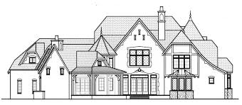 english style house house plan brickell manor b house plan plans by garrell associates