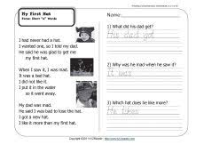 75 best worksheets reading comprehension images on pinterest