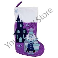 your wdw store disney christmas stocking haunted mansion