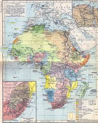 Maps Of Africa Of Africa In 1912