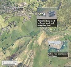 map of rothbury market town rothbury deserted amid gunman hunt news