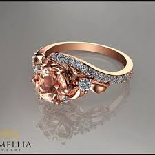 morganite ring gold best morganite jewelry gold 14k products on wanelo