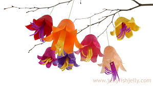 Hanging Flowers Tissue Paper Hanging Flowers Fun Family Crafts