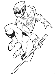 power ranger coloring pages ninja storm coloringstar