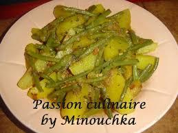 cuisiner des haricots verts frais tajine d haricots verts et pommes de terre culinaire by