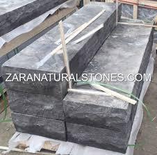 antique black limestone steps toronto vaughan kleinburg pickering