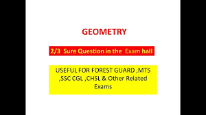 last minute suggestion forest guard exam geometry with pdf youtube