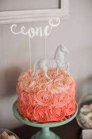 magical 1st birthday smash cake