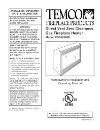 temco fireplace manual part 47 napoleon fireplace not lighting