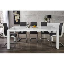 90 Dining Table Lima Extendable Dining Table 120 200 X 90 White High Gloss