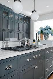 blue kitchen cabinet color ideas modern cabinets