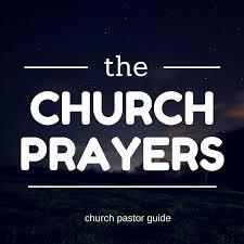church anniversary opening prayer