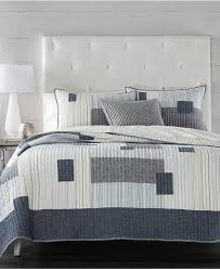 Grey Quilted Bedspread Quilts And Bedspreads Macy U0027s