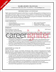 resume format for the post of senior accountant responsibilities accounting resume sle career igniter