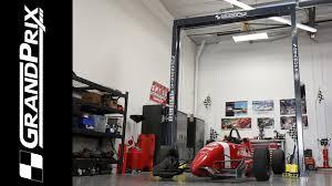 grandprix car lift garage takeover youtube