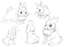 bunny rabbit drawing free download