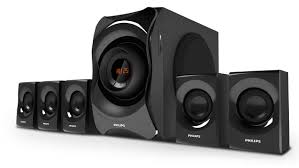 home theater egypt multimedia speaker 5 1 spa8000b 94 philips