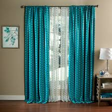 Blackout Curtains Polka Dots Blackout Curtain Panel Set Of 2 Walmart Com