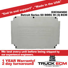 detroit series 60 ecm ebay