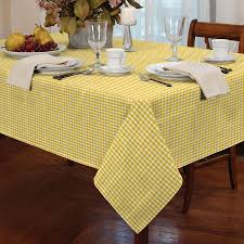 COUNTRY STYLE GINGHAM CHECK TABLE CLOTH SQUARE ROUND RECTANGLE