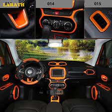 jeep renegade orange 2017 aliexpress com buy hotsales in 2017 abs orange internal interior
