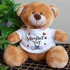 engraved teddy bears personalized 5 foot teddy soft size big plush animal