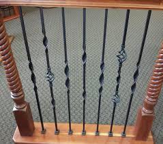 ribbon cheap ribbon twisted iron balusters traditional houston by cheap